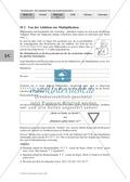 Mathematik, Zahlen & Operationen, Grundrechenarten, Algebra, Punkt vor Strichrechnung, Multiplikation, Addition, Klammern