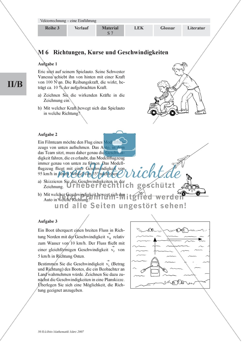 Analytische Geometrie: Aufgaben mit Lösungen zur Vektoraddition ...