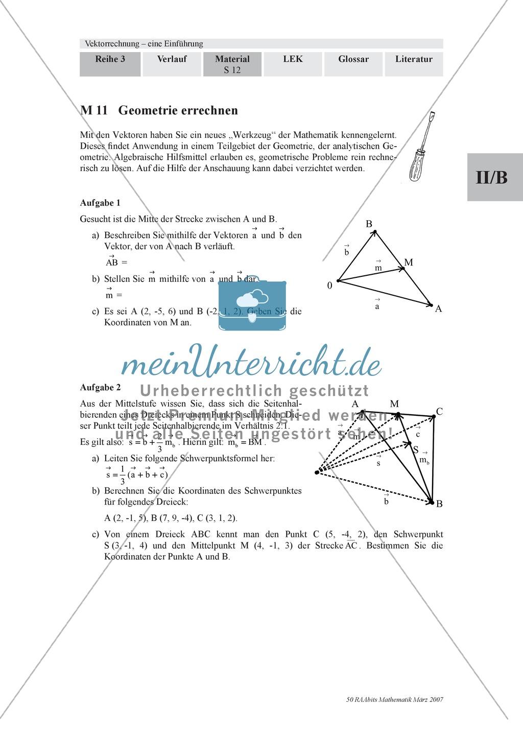 analytische geometrie aufgaben mit l246sungen zur