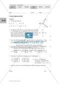 Mathematik, Raum & Form, Zahlen & Operationen, analytische Geometrie, Rechengesetze, Vektorrechnung