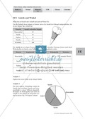 Mathematik, Daten, Zufall & Wahrscheinlichkeit, Stochastik, Datenerfassung, Datenauswertung, Diagramm, kreis