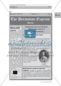 """""""The Derivation Express"""" – eine Einführung in die Differenzialrechnung über """"historische"""" Zeitungsartikel Preview 3"""