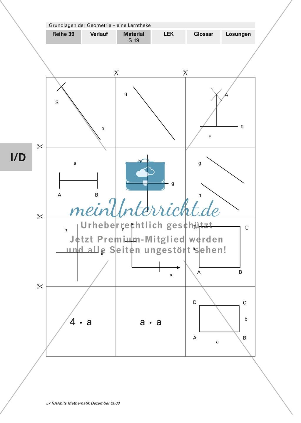 Geometrie: Lerntheke mit Selbsttest und differenzierenden Aufgaben mit Lösungen zum Thema Flächen, Flächeneinheiten und Umfang Preview 19