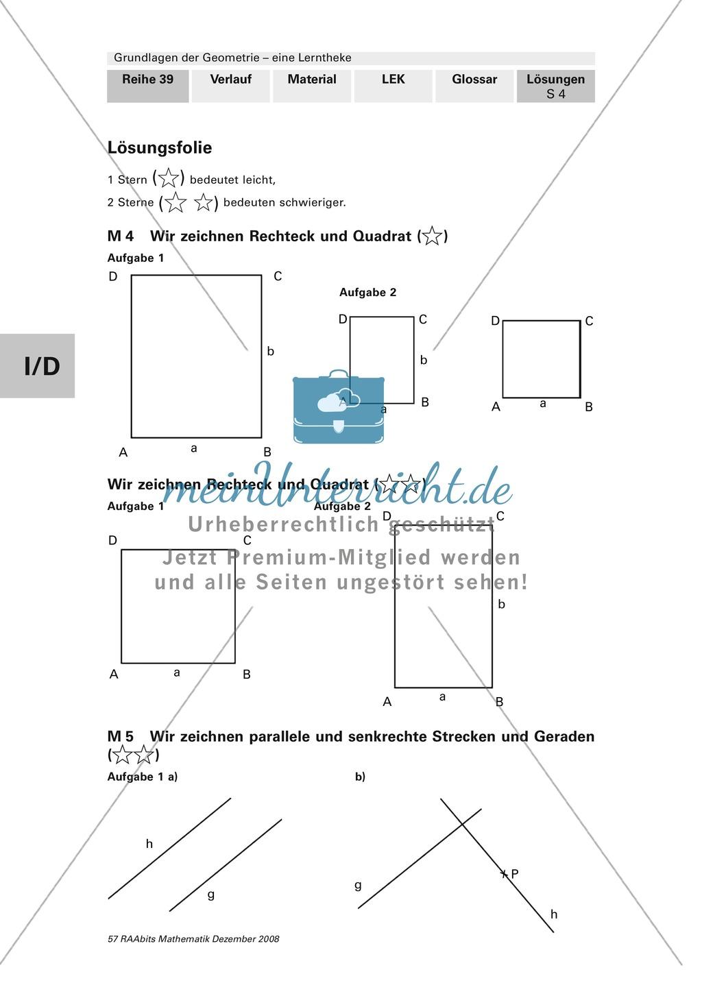 Geometrie: Lerntheke mit Selbsttest und differenzierenden Aufgaben mit Lösungen zum Thema Flächen, Flächeneinheiten und Umfang Preview 23