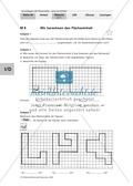 Geometrie: Bestimmung von Flächeninhalt und Umfang. Mit Aufgaben und Lösungen. Preview 3