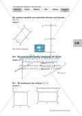 Geometrie: Bestimmung von Flächeninhalt und Umfang. Mit Aufgaben und Lösungen. Preview 9