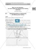 Mathematik, funktionaler Zusammenhang, Funktion, Analysis, Ableitung, spiegelung