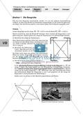 Geometrie: Die grafische Herleitung des Satz des Pythagoras und Anwendungsaufgaben mit Lösungen Preview 3