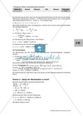 Geometrie: Die grafische Herleitung des Satz des Pythagoras und Anwendungsaufgaben mit Lösungen Preview 8