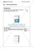 Geometrie: Unterrichtseinheit zur Förderung des räumlichen Vorstellungsvermögens mit dem Soma-Würfel. Mit Aufgabenkarten und Brettspiel. Preview 2