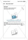Geometrie: Unterrichtseinheit zur Förderung des räumlichen Vorstellungsvermögens mit dem Soma-Würfel. Mit Aufgabenkarten und Brettspiel. Preview 3