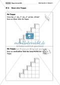 Geometrie: Unterrichtseinheit zur Förderung des räumlichen Vorstellungsvermögens mit dem Soma-Würfel. Mit Aufgabenkarten und Brettspiel. Preview 6