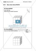 Geometrie: Unterrichtseinheit zur Förderung des räumlichen Vorstellungsvermögens mit dem Soma-Würfel. Mit Aufgabenkarten und Brettspiel. Preview 8