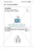 Geometrie: Unterrichtseinheit zur Förderung des räumlichen Vorstellungsvermögens mit dem Soma-Würfel. Mit Aufgabenkarten und Brettspiel. Preview 9