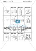 Geometrie: Brettspiel mit Aufgabenkarten zur Förderung des räumlichen Vorstellungsvermögens mit dem Soma-Würfel. Preview 3
