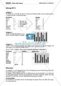 Statistik: Aufgaben zur Erstellung von Strichlisten und Streifendiagrammen. Mit Lösungen. Preview 2
