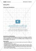 Algebra: Infomaterial und Übungen zu Quadratzahlen. Mit Lösungen. Preview 8