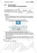Algebra: Infomaterial und Übungen zu Dreieckszahlen. Mit Lösungen. Preview 1