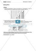 Algebra: Infomaterial und Übungen zu Dreieckszahlen. Mit Lösungen. Preview 2