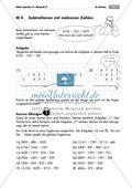 Mathematik, Zahlen & Operationen, Grundrechenarten, Arithmetik, Subtraktion, Dezimalzahlen