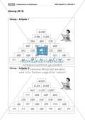 Arithmetik: Grundrechenarten mit Zahlenpyramiden üben. Mit Lösungen. Preview 2