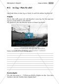 Offene Sachaufgabe zum Problemlösen/Knobeln und Modellieren zur Personenzahl in einem Zug. Mit Lösungen. Preview 1