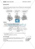 Geometrie: Unterrichtsmaterial zu den Eigenschaften von Würfel und Quader. Mit Aufgaben und Lösungen. Preview 4