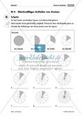 Mathematik, Zahlen & Operationen, Bruchrechnung, kreis, arbeitsblätter