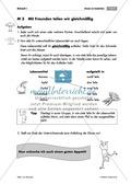 Bruchrechnung: Übungen zur Einführung von Brüchen: Objekte gleich aufteilen. Mit Aufgaben und Lösungen. Preview 3