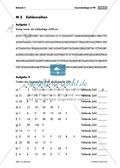 Konzentrationsübungen für den Matheunterricht: Sodoku, Rechenprogramm, Zahlenreihen, Bruchrechnen mit den Hauptstädten deutscher Bundesländer und Geheimbotschaften. Mit Lösungen. Preview 5