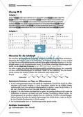 Konzentrationsübungen für den Matheunterricht: Sodoku, Rechenprogramm, Zahlenreihen, Bruchrechnen mit den Hauptstädten deutscher Bundesländer und Geheimbotschaften. Mit Lösungen. Preview 6