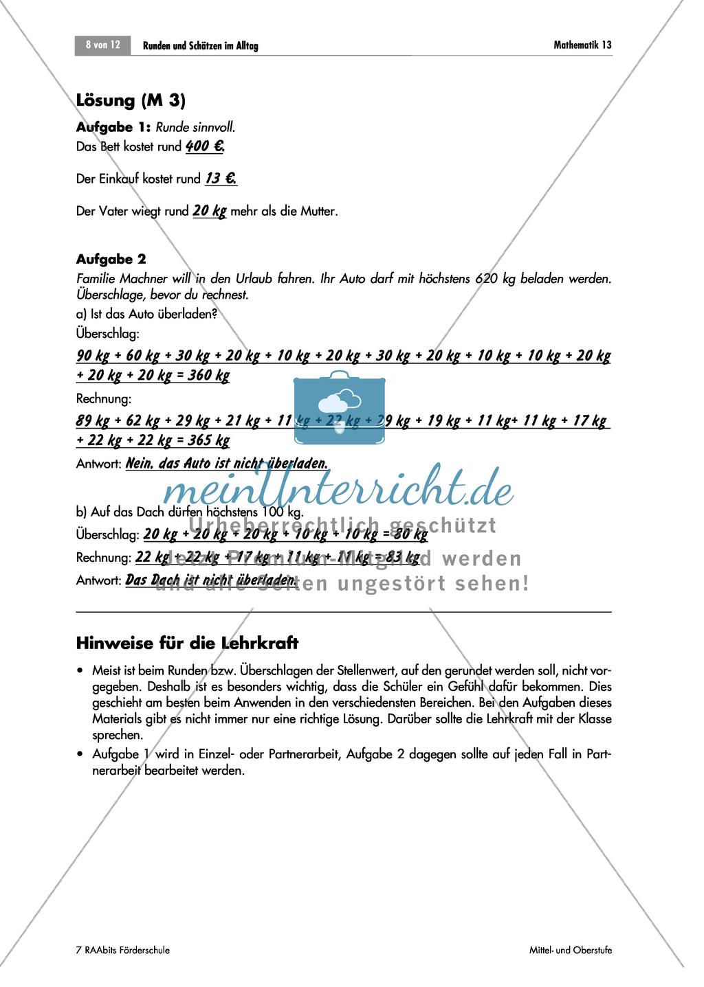 Charmant Geld Runden Arbeitsblatt Ideen - Super Lehrer ...