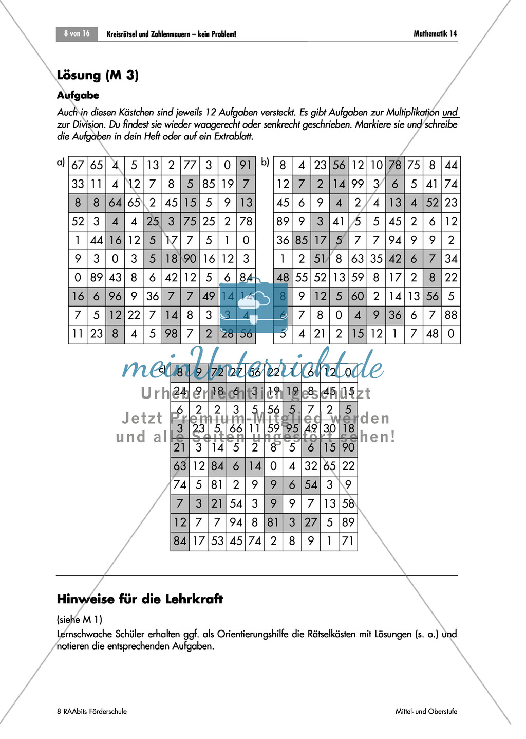 Nice Mathe Arbeitsblatt Auf Multiplikation Ideas - Mathe ...
