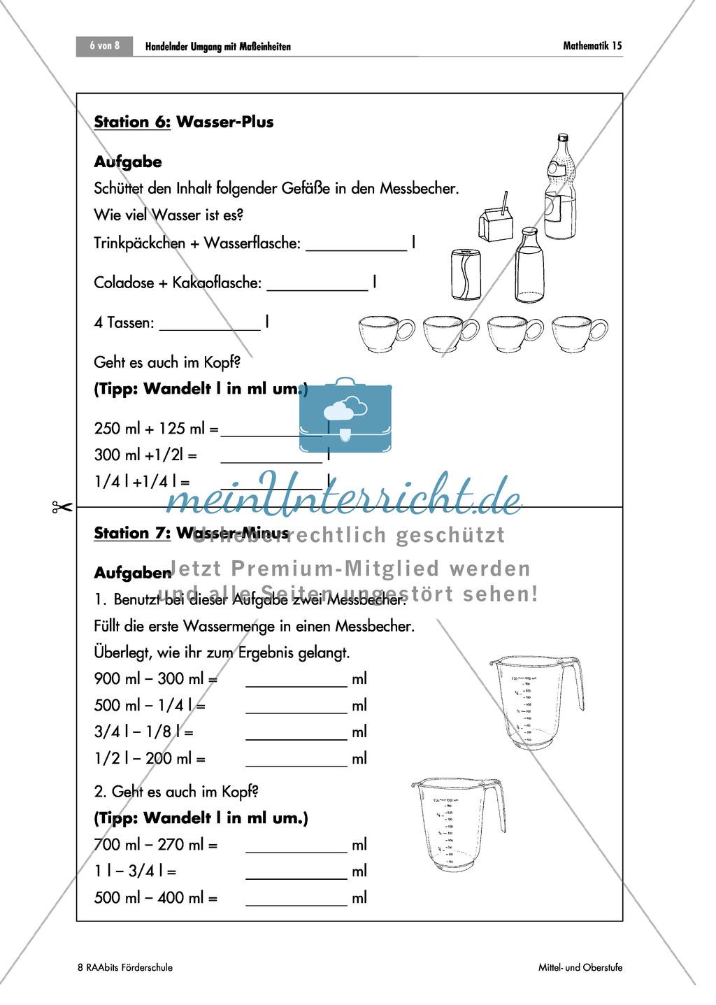 Wunderbar Metrische Umrechnungen Arbeitsblatt Galerie - Mathe ...