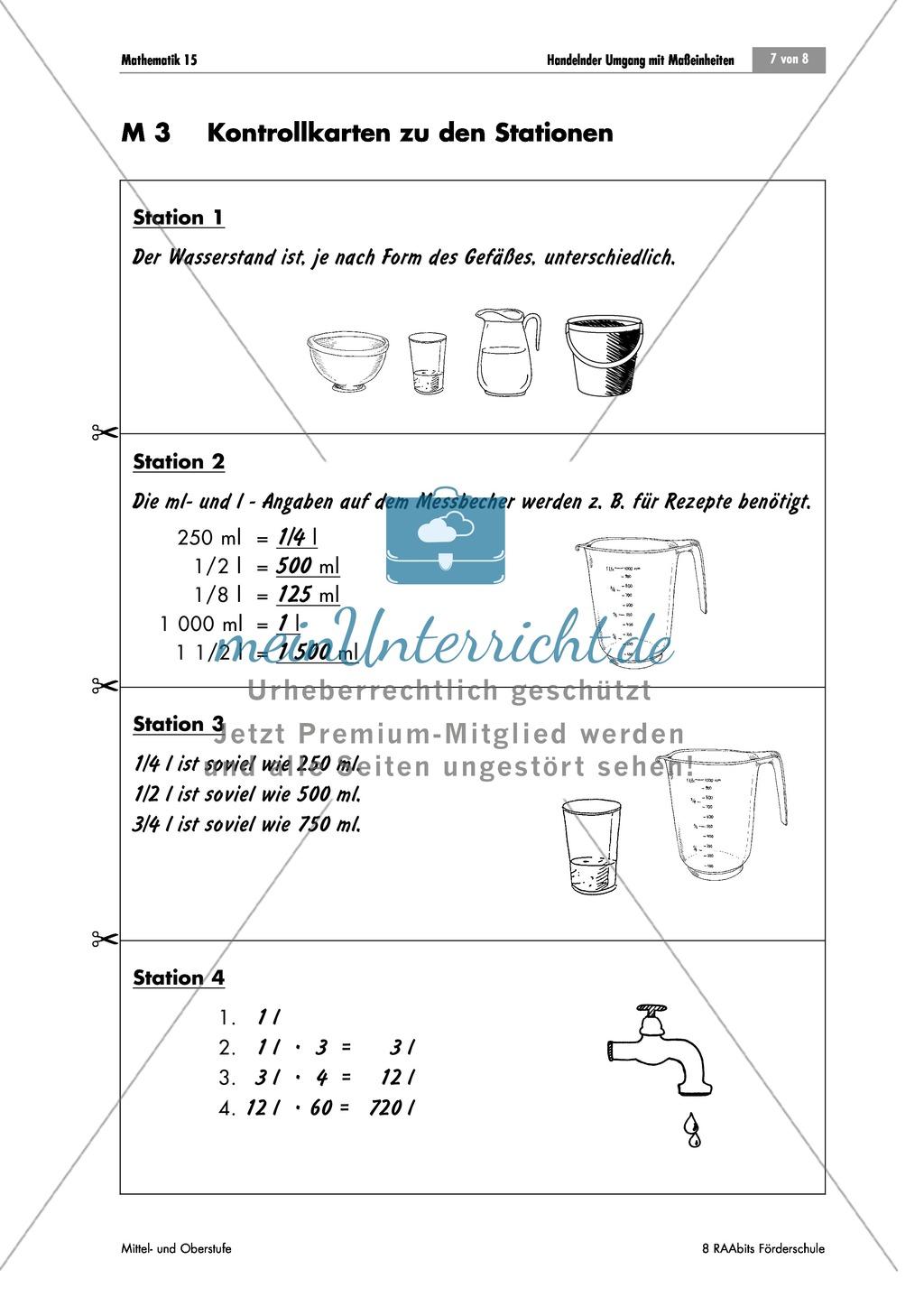Tolle Metrische Umrechnungen Arbeitsblatt Bilder - Mathe ...