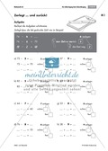 Übungen zur Zahlzerlegung bei Addition und Subtraktion mit Zehnerübergang Preview 3
