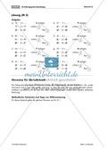 Übungen zur Zahlzerlegung bei Addition und Subtraktion mit Zehnerübergang Preview 4