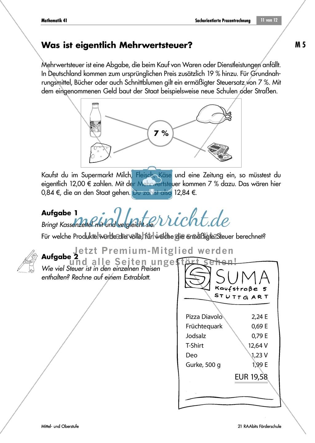 2 Skonto Berechnen : sachorientierte prozentrechnung aufgaben zu rabatt ~ Themetempest.com Abrechnung
