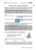 Mathematik, Größen & Messen, Zahlen & Operationen, Prozentrechnung, Potenzen, Potenzgesetze