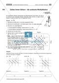 Verschiedene Multiplikationsverfahren kennen lernen: die ägyptische und arabische Multiplikation Preview 3