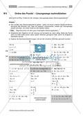 Mathematik, funktionaler Zusammenhang, lineare Gleichungssysteme, lösungsverfahren