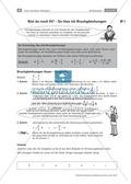 Anleitung zum Lösen von Bruchgleichungen als Wiederholung Preview 1