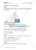 Bestimmung der Höhe einer Pyramide - Transfer zum Strahlensatz Preview 2