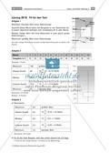 Statistik - Aufgaben zu Daten und Diagrammen Preview 3