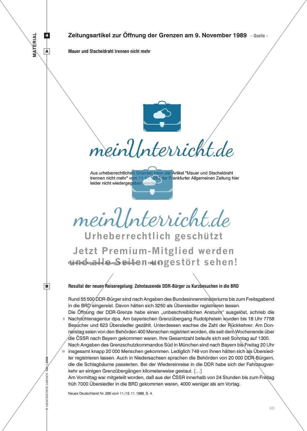 17. Juni 1953: Die Darstellung des Arbeiteraufstandes in der DDR in den zeitgenössischen Zeitungen der DDR und der Bundesrepublik Preview 6
