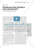 Die Endphase der Weimarer Republik: Ursachen und Folgen Preview 2