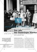 Das Jahr des Wahlkampfs 1932: Analyse politischer Plakate Preview 1