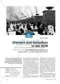 Geschichte, Handlungs- und Kulturräume, Epochen, Deutsche Geschichte, 20. Jahrhundert bis zur Gegenwart, Nationalsozialismus, DDR, faschismus, gedenkstätten