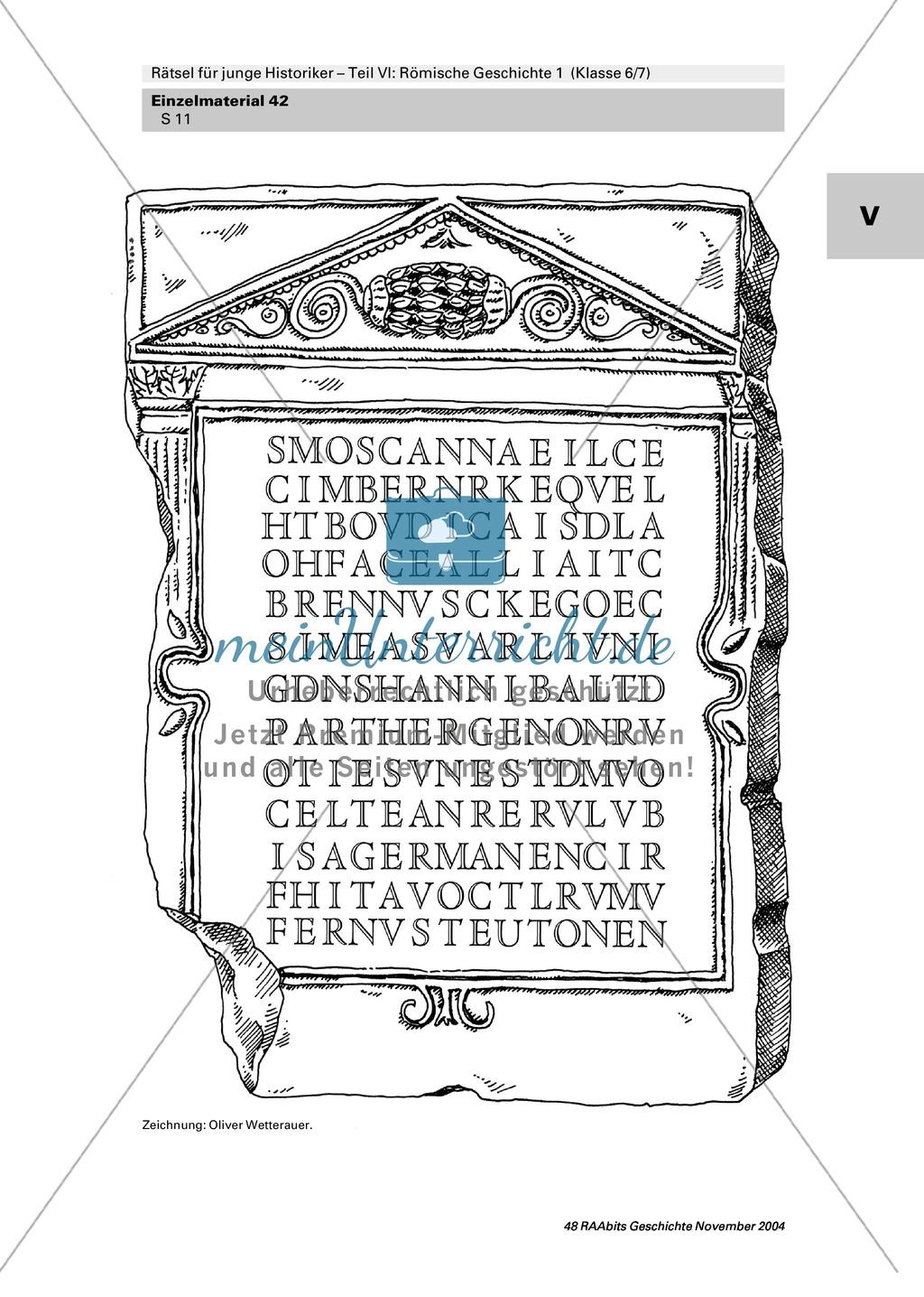 Antike: Rätsel und Spiele zur römischen Geschichte Preview 9