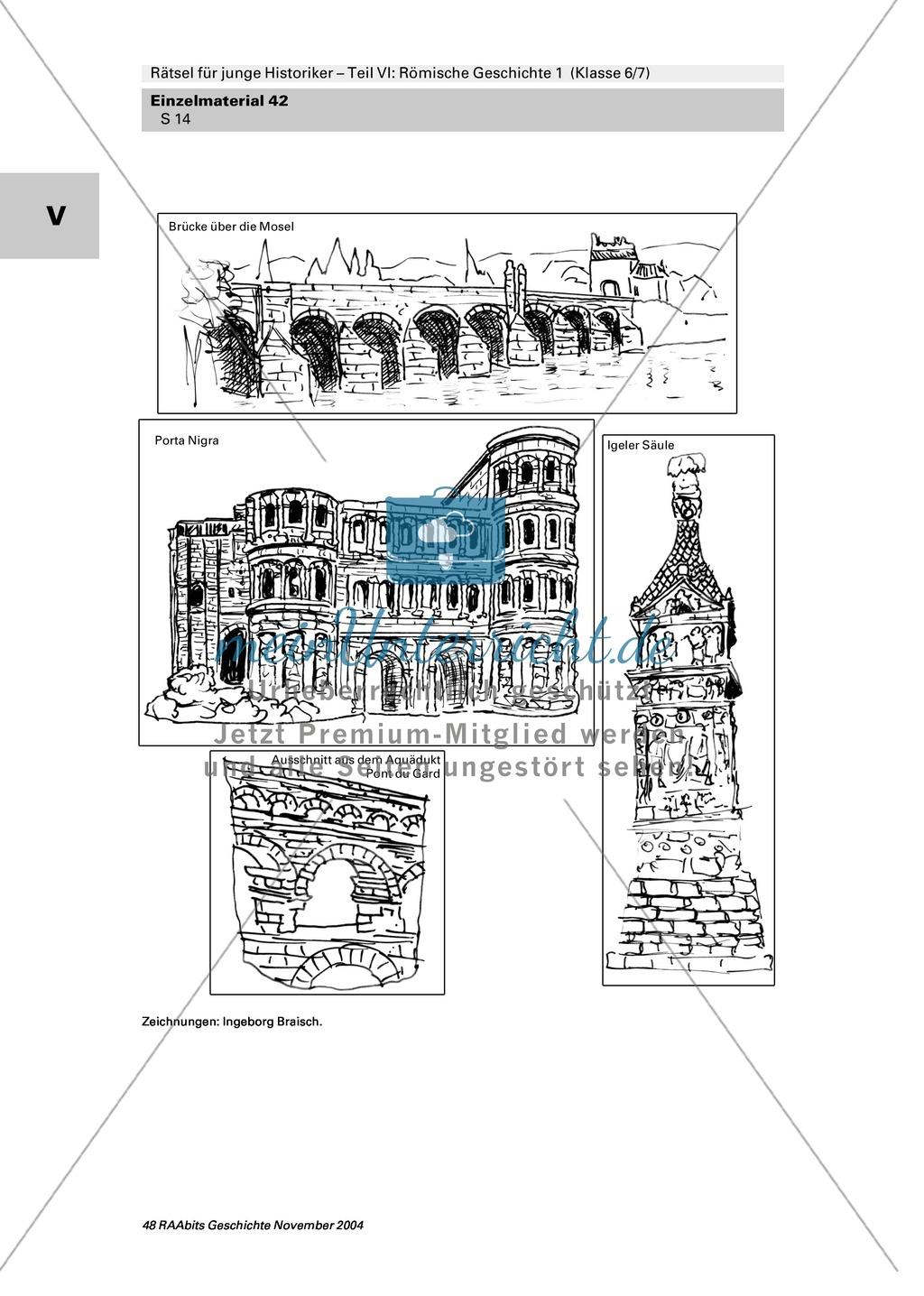 Antike: Rätsel und Spiele zur römischen Geschichte Preview 12